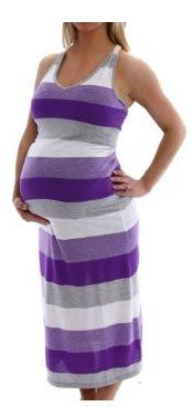vestidos casuales de embarazo