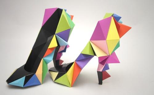 zapatos de varios colores