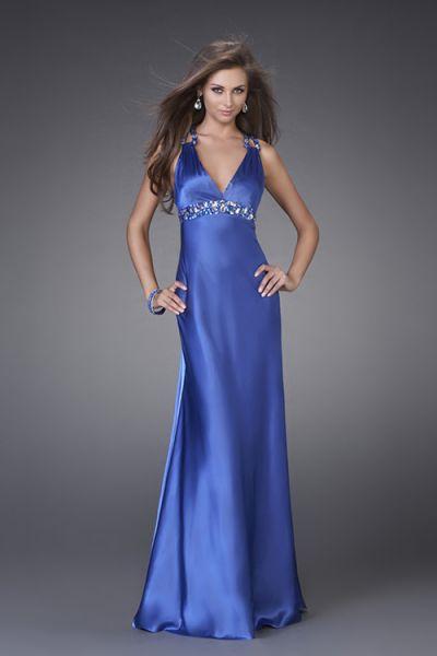 vestidos celestes