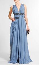 vestidos drapeados de moda
