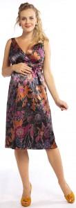 vestidos floreados para embarazadas