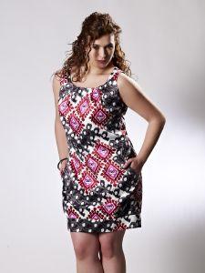 vestidos estampados modernos