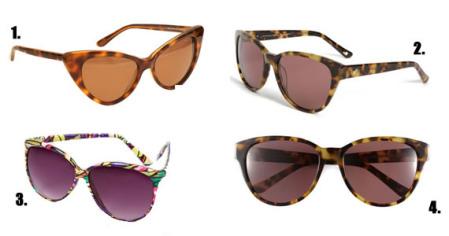 gafas de moda para el sol