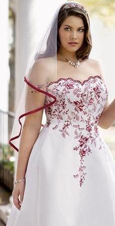 Vestidos de novia de moda para gorditas