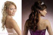 Peinados modernos para las quinceañeras