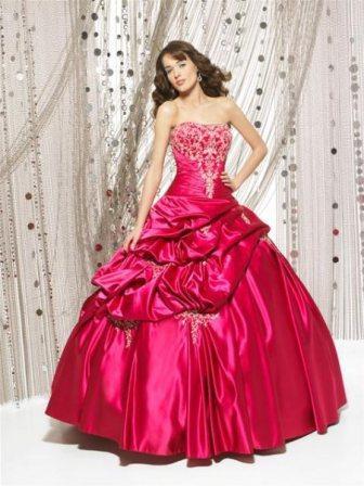 vestidos morados de quince años