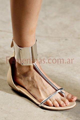 sandalias bajas