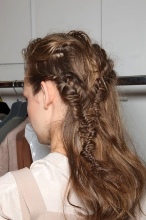 cabellos trensados