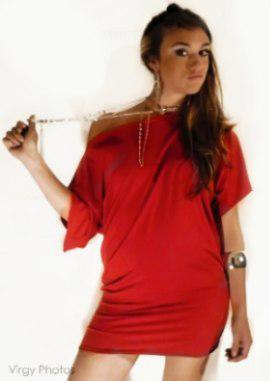 blusas tipo vestido