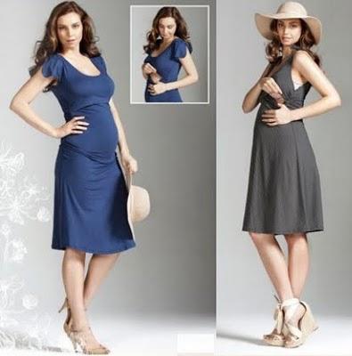 vestidos playeros embarazadas