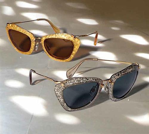 accesorios brillantes de moda
