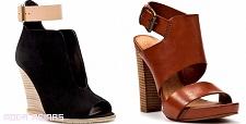 zapatos con tiras
