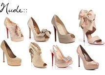 zapatos color beige