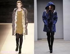 abrigos modernos de moda mujer