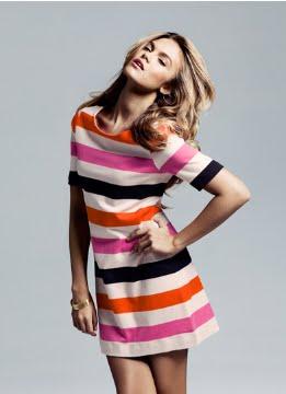 vestidos de colores juveniles