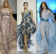 vestidos drapeados