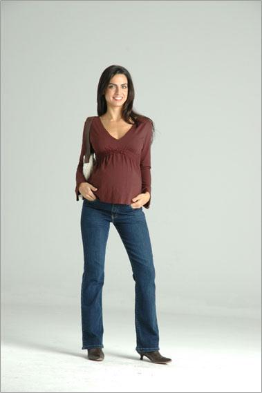 blusas de moda de maternidad