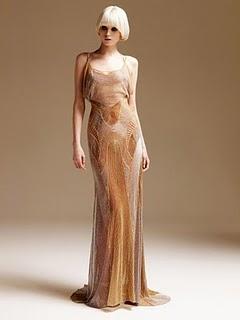 vestidos dorados de noche