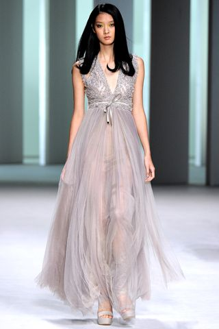 vestidos con volados