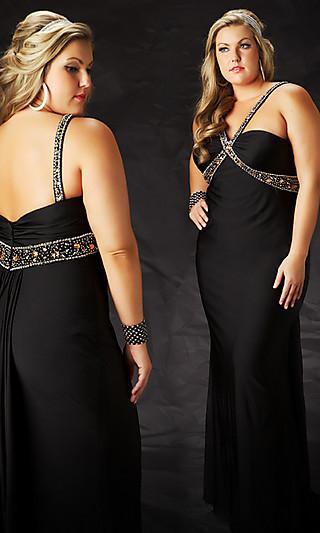 vestidos elegantes gorditas