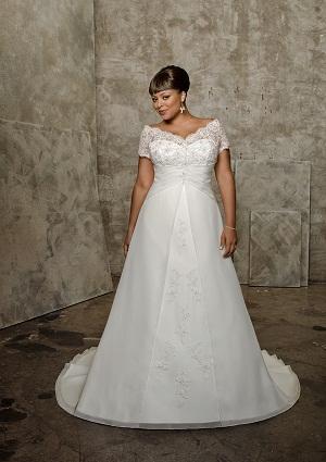 Vestidos modernos de novia para gorditas | AquiModa.com