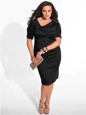 vestidos oscuros para gorditas