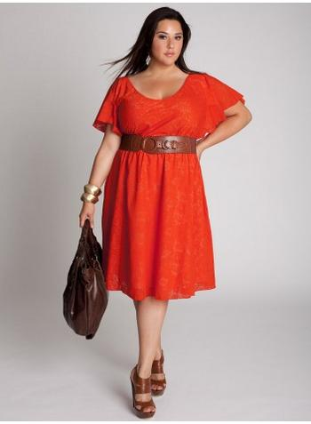 vestidos elegantes para gorditas
