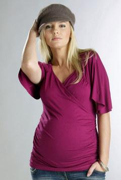 modelos de blusas de maternidad