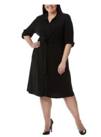 vestidos cortos para gorditas