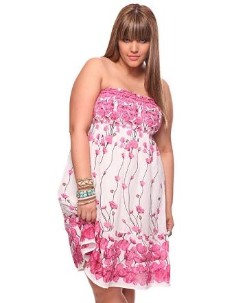 modern dresses plus size
