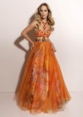 vestidos estampados para fiestas