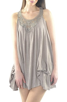 vestidos flojos de moda