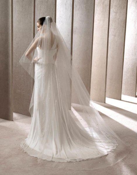 velos de novia modernos