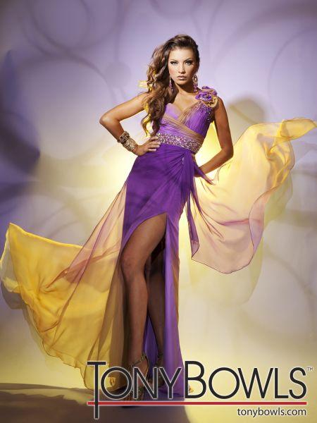 vestidos espectaculares de noche