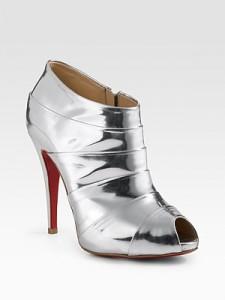 zapatos altos para navidad