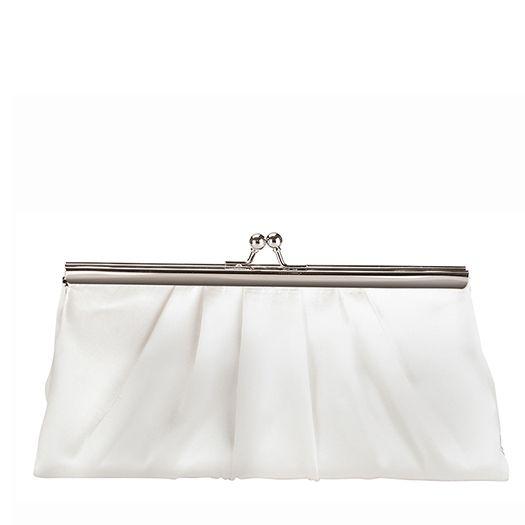 carteras blancos para novias