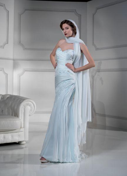 vestidos de colores para novias