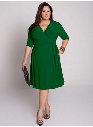 vestidos coloridos para gorditas