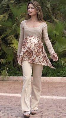 blusas y pantalones para embarazadas