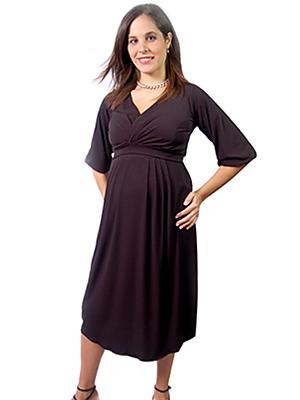 vestidos modernos embarazadas