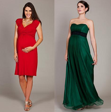 moda navidad para embarazadas