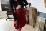 Vestidos de navidad para embarazadas
