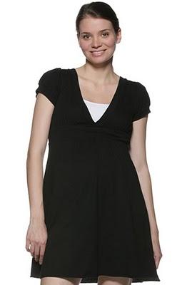 vestidos sencillos de maternidad
