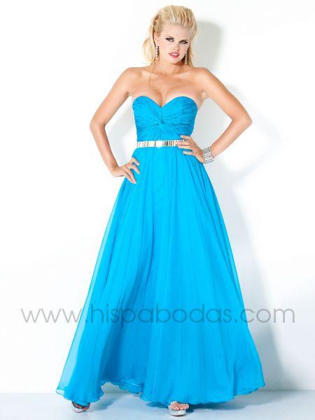 vestidos color plateado