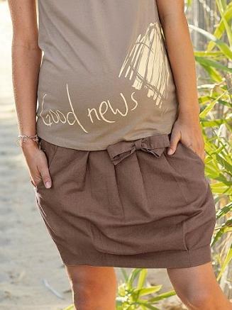 vestidos frescos y casuales para embarazadas