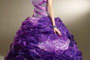Vestidos vaporosos para tu fiesta de 15 de colores muy lindos