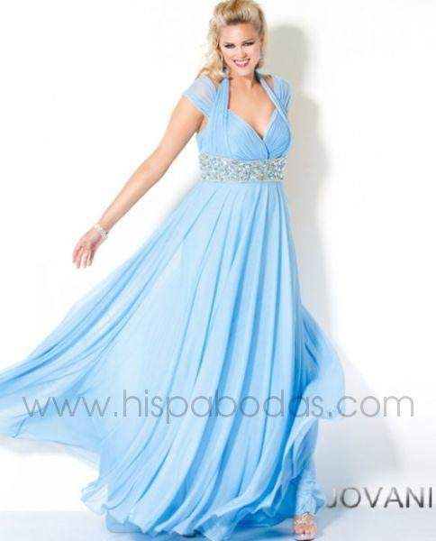 Vestidos de noche corte princesa o imperio