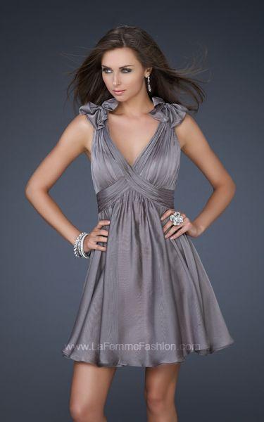 vestidos color bronce