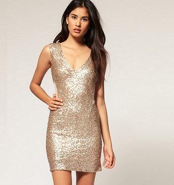 vestidos cortos transparentes