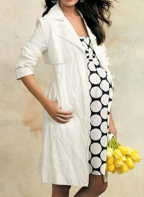 vestidos estampados para embarazadas